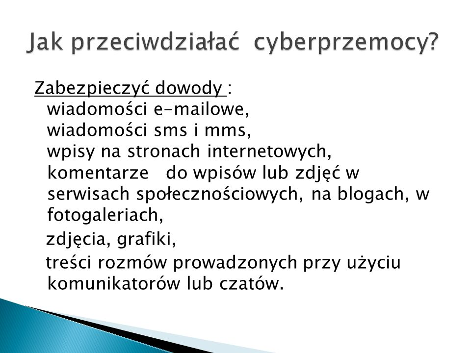 Jak przeciwdziałać cyberprzemocy