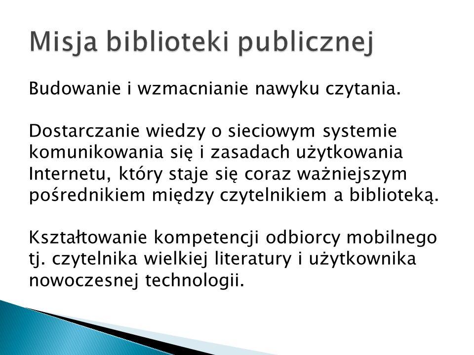 Misja biblioteki publicznej