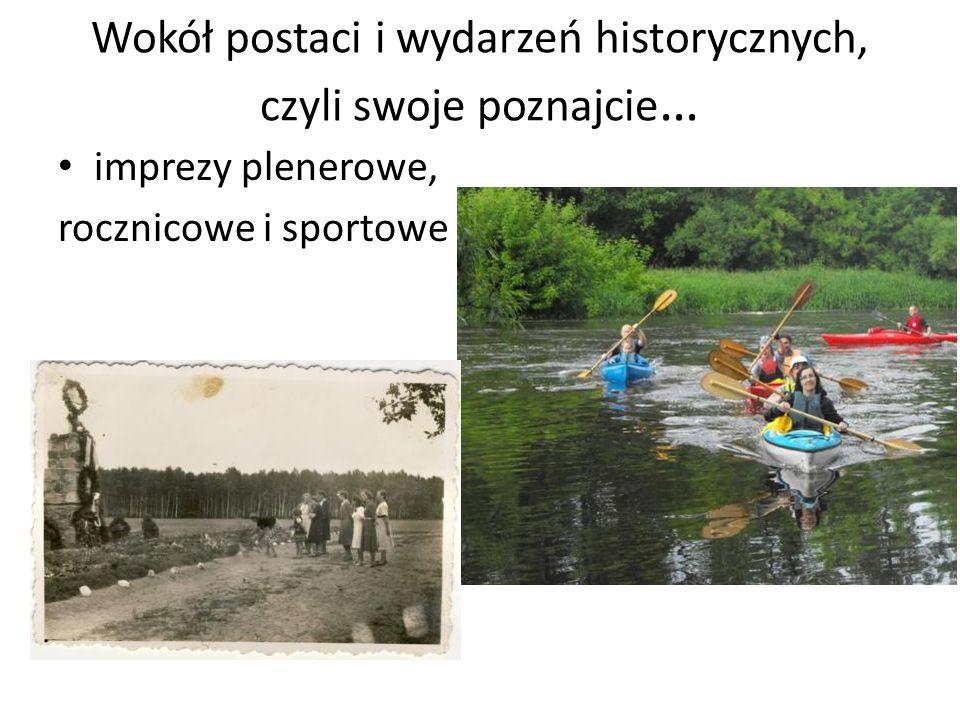 Wokół postaci i wydarzeń historycznych, czyli swoje poznajcie…