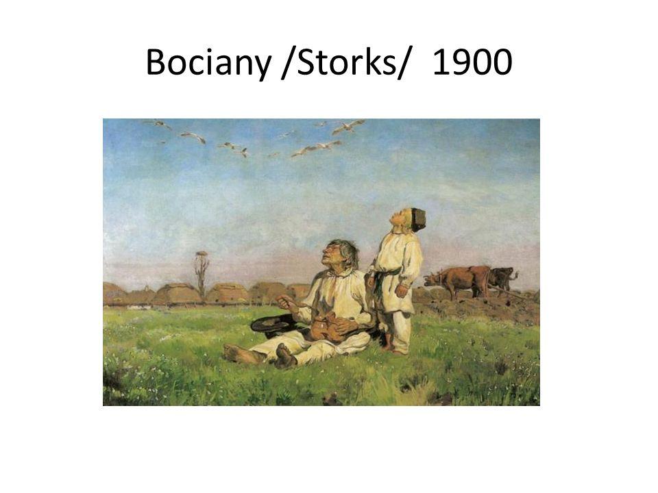 Bociany /Storks/ 1900