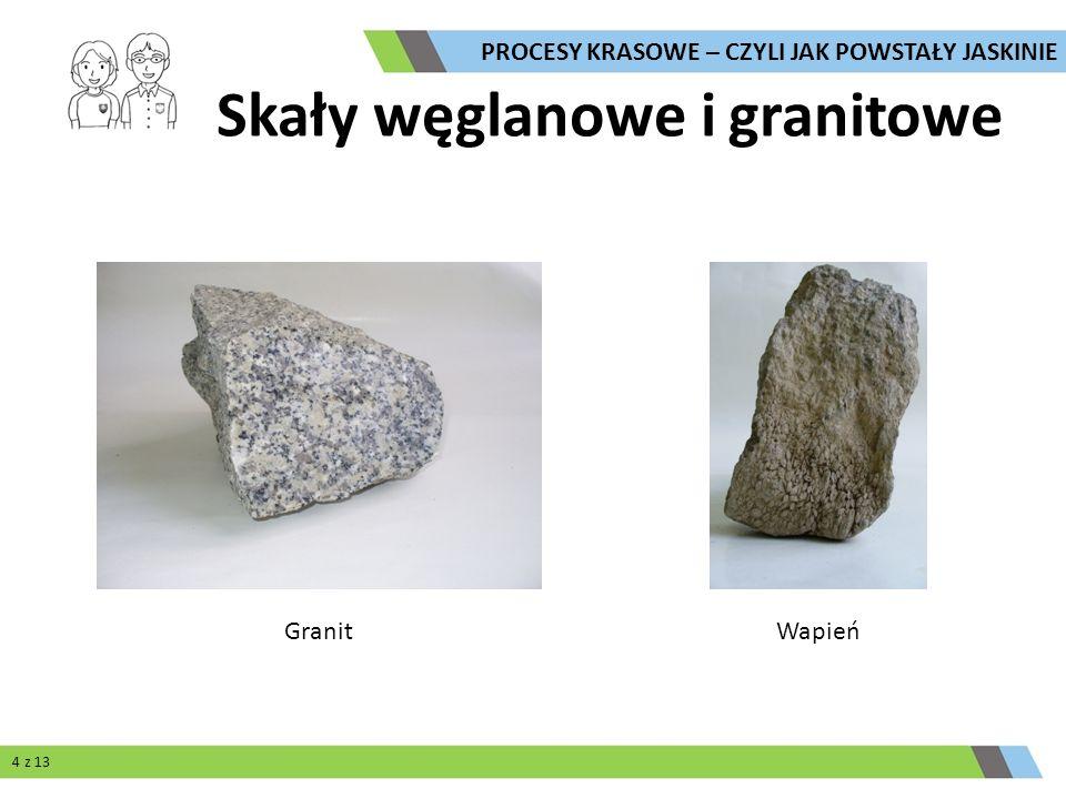 Skały węglanowe i granitowe