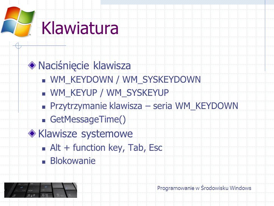 Programowanie w Środowisku Windows
