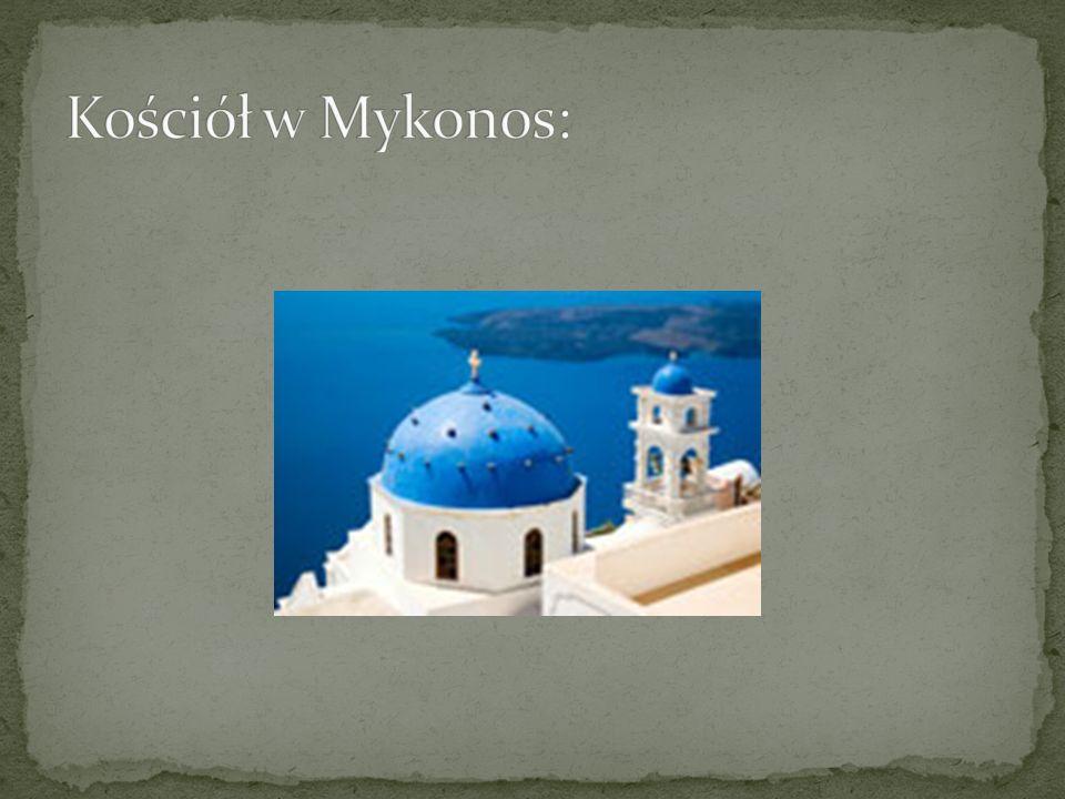 Kościół w Mykonos: