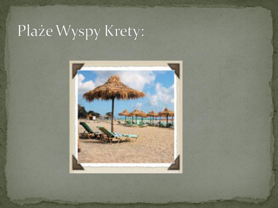 Plaże Wyspy Krety: