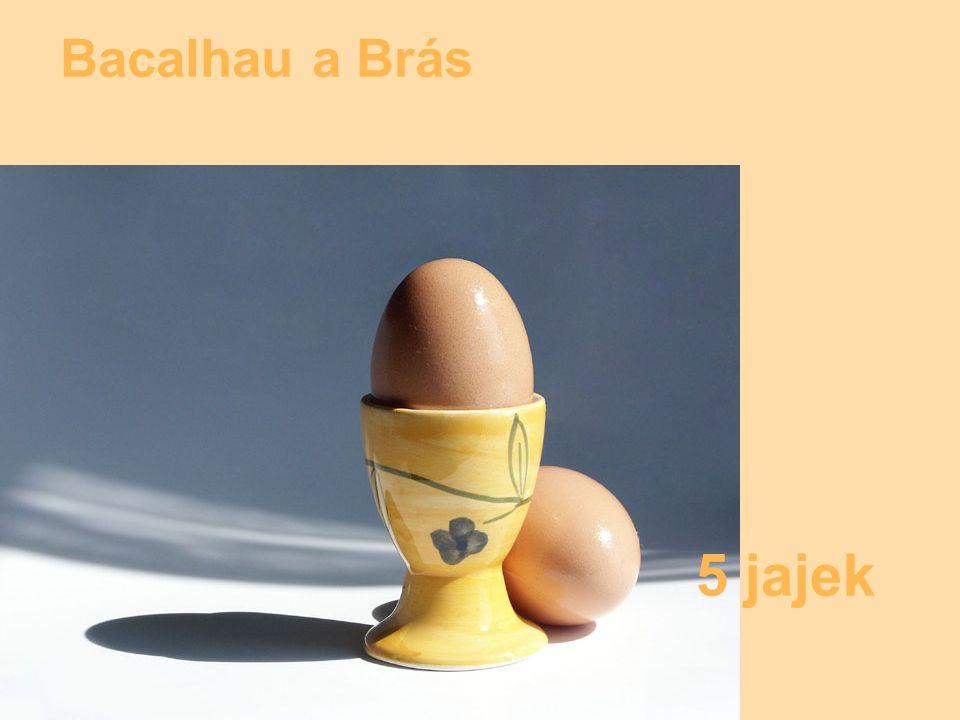 Bacalhau a Brás 5 jajek