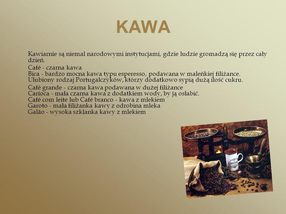 KAWA Kawiarnie są niemal narodowymi instytucjami, gdzie ludzie gromadzą się przez cały dzień.