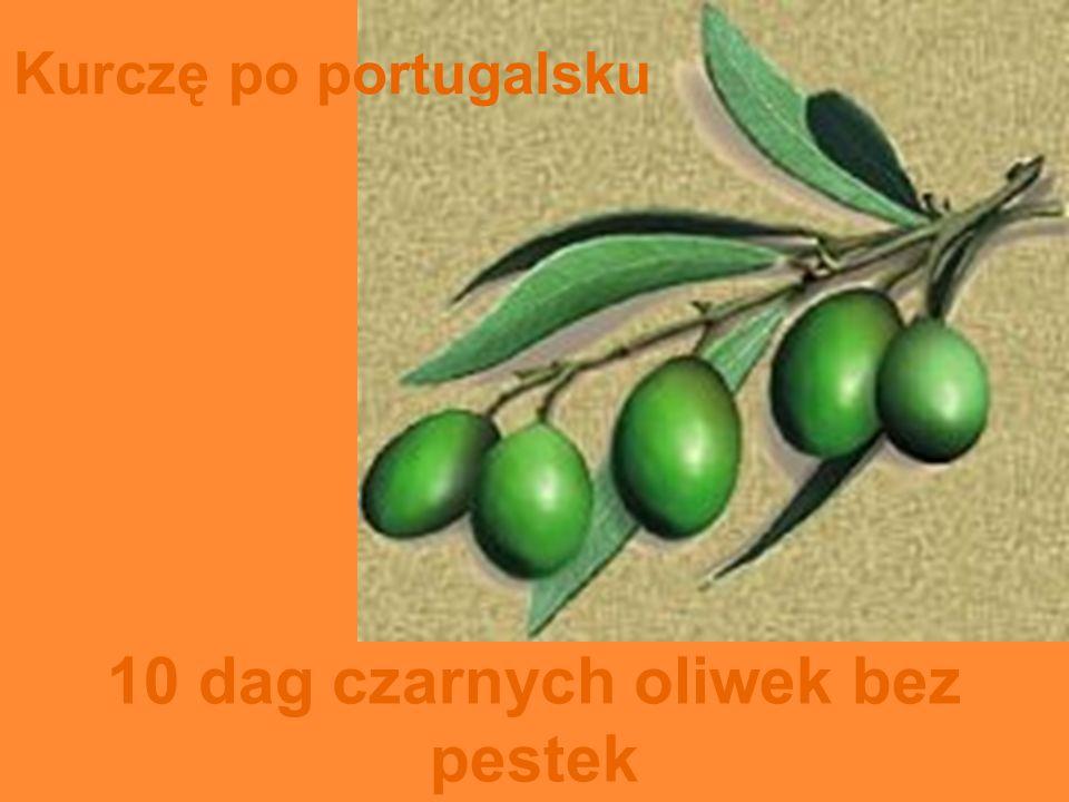 10 dag czarnych oliwek bez pestek
