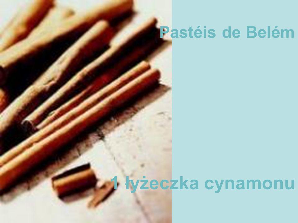 Pastéis de Belém 1 łyżeczka cynamonu