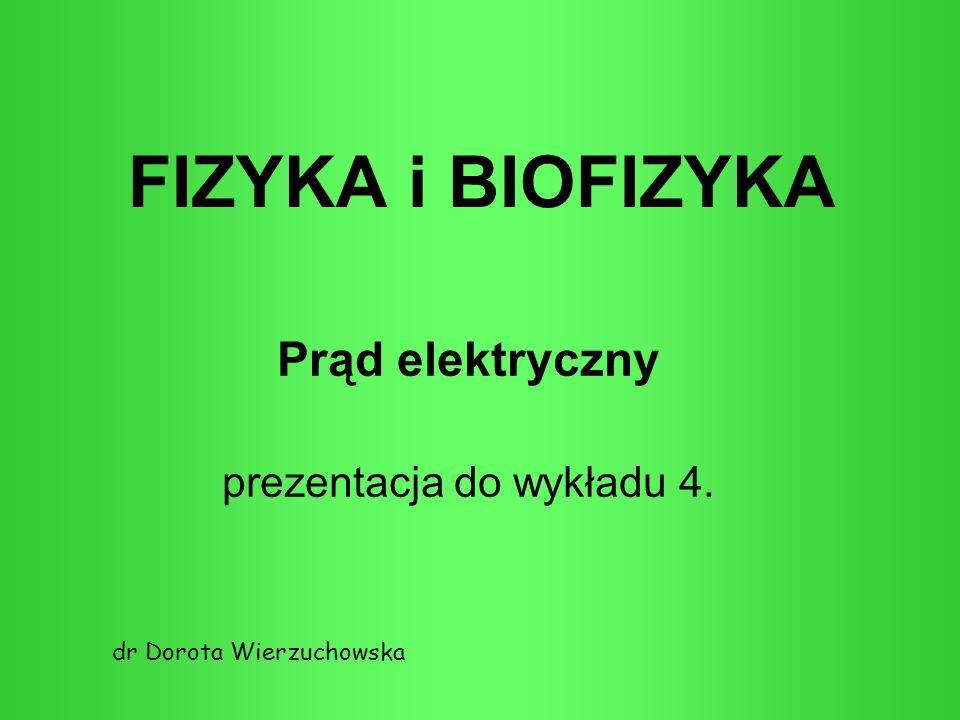 Prąd elektryczny prezentacja do wykładu 4.