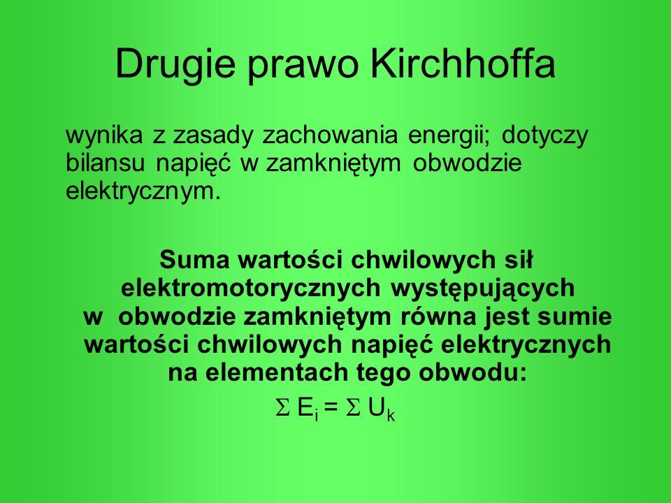 Drugie prawo Kirchhoffa