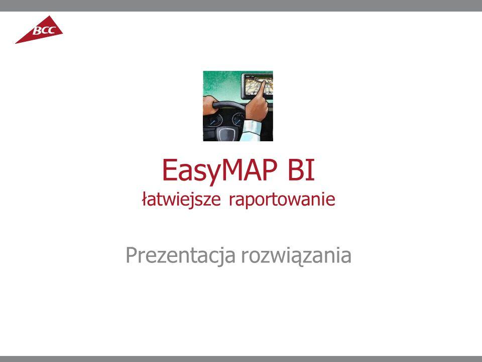 EasyMAP BI łatwiejsze raportowanie