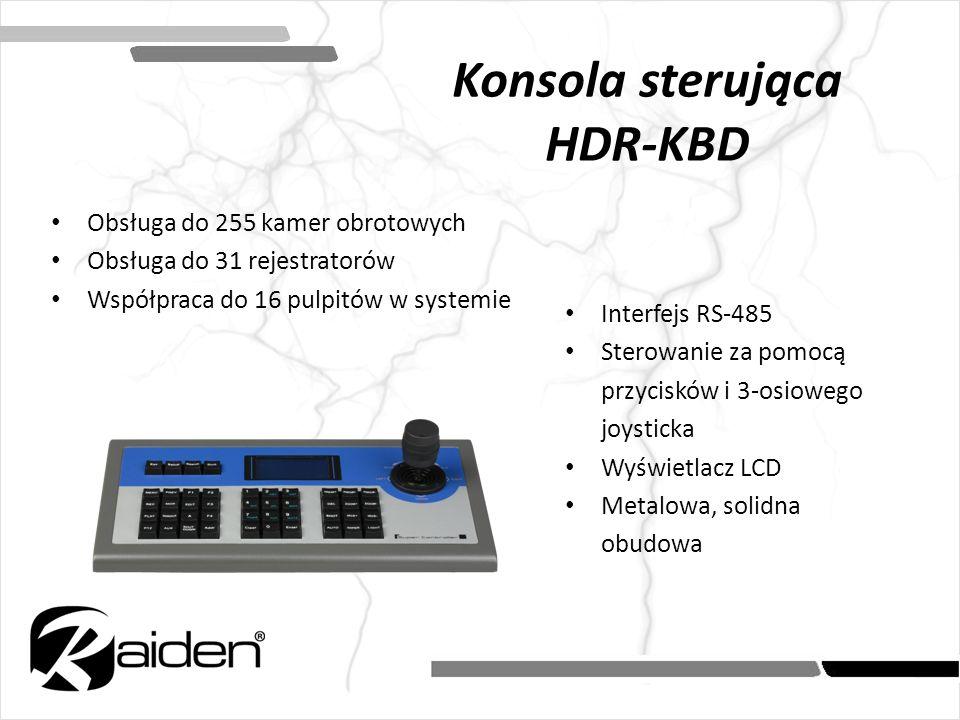 Konsola sterująca HDR-KBD