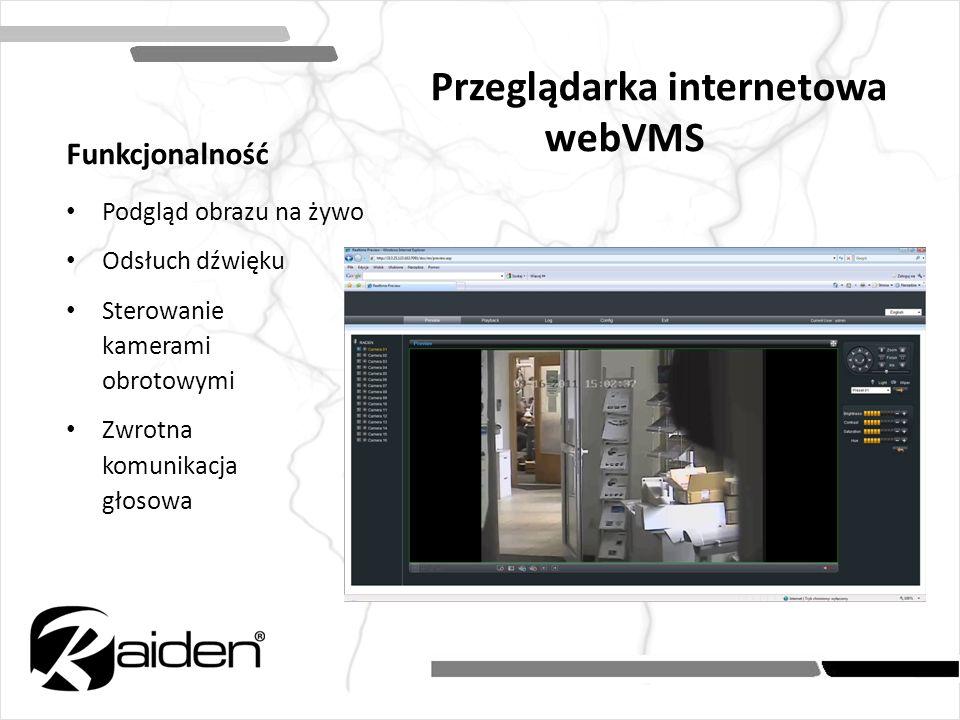 Przeglądarka internetowa webVMS