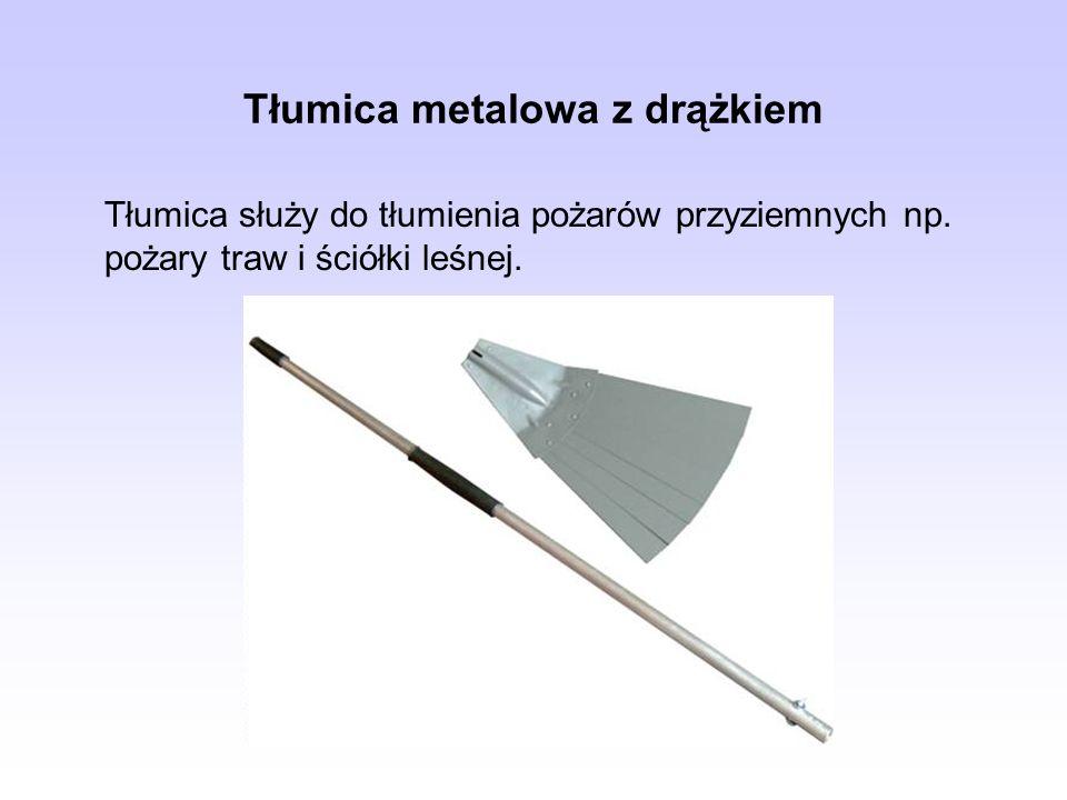 Tłumica metalowa z drążkiem