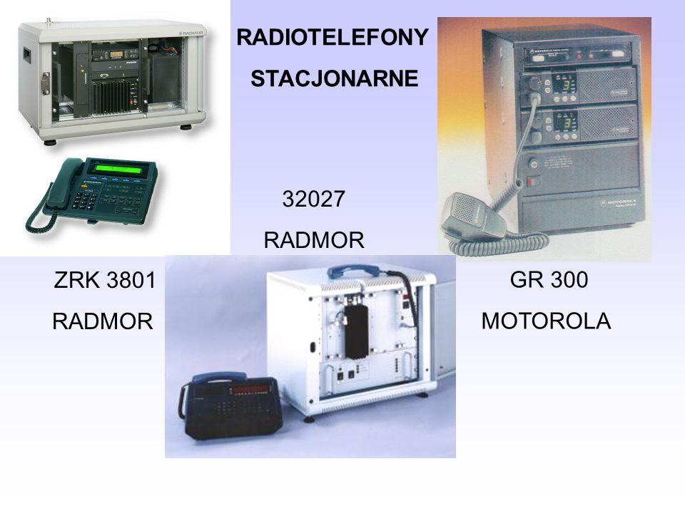RADIOTELEFONY STACJONARNE 32027 RADMOR ZRK 3801 RADMOR GR 300 MOTOROLA