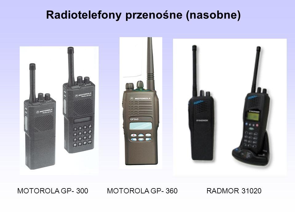 Radiotelefony przenośne (nasobne)