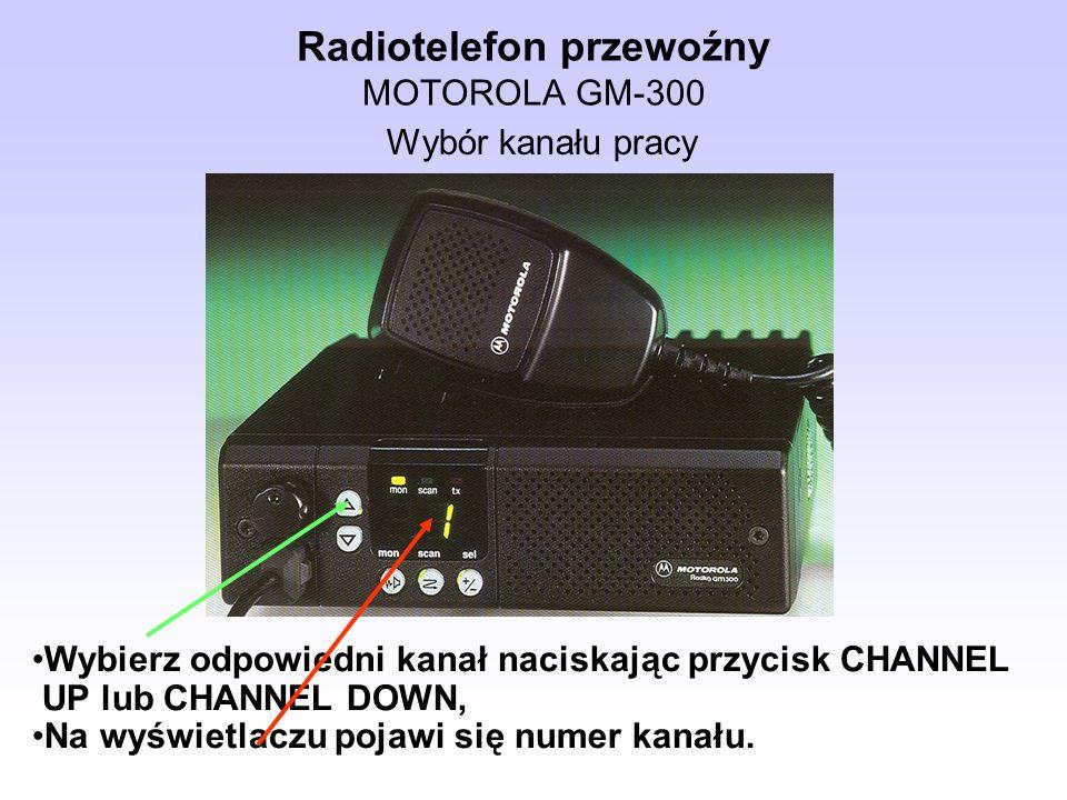 Radiotelefon przewoźny MOTOROLA GM-300