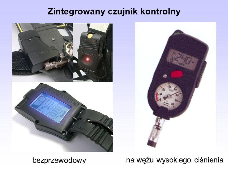 Zintegrowany czujnik kontrolny