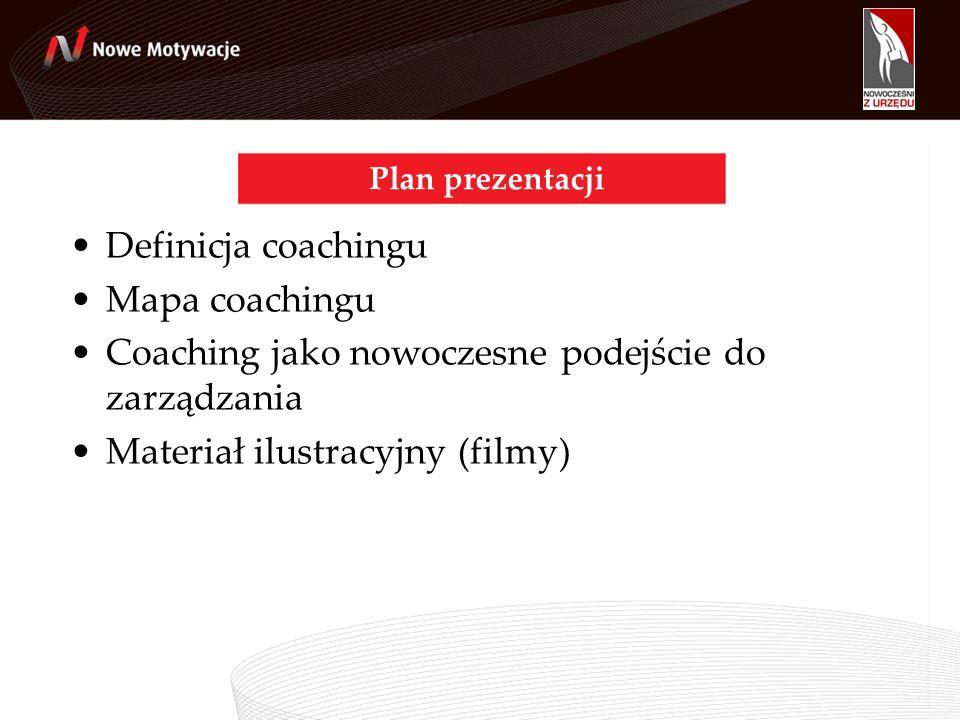 Coaching jako nowoczesne podejście do zarządzania