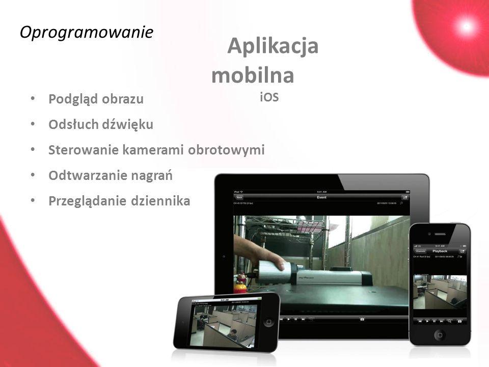 Aplikacja mobilna iOS Oprogramowanie Podgląd obrazu Odsłuch dźwięku