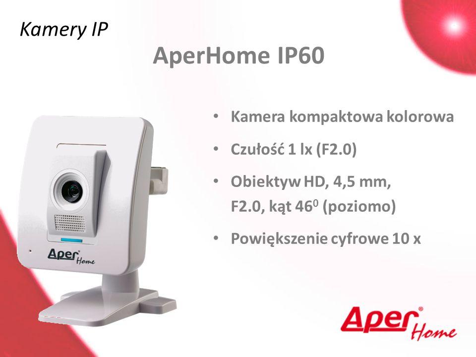 AperHome IP60 Kamery IP Kamera kompaktowa kolorowa Czułość 1 lx (F2.0)