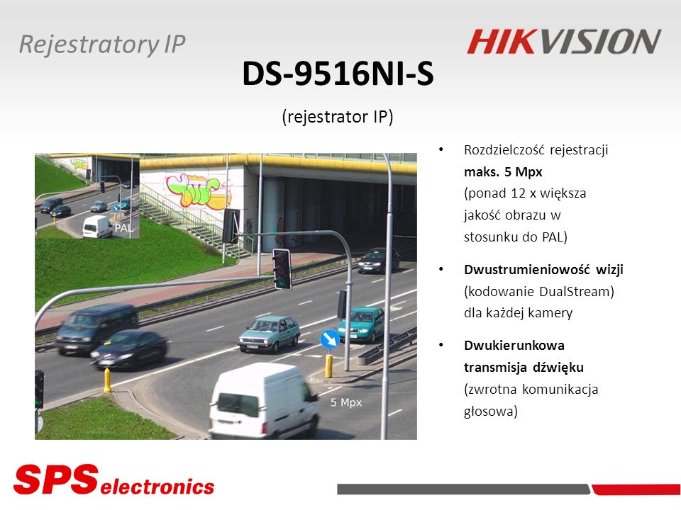DS-9516NI-S (rejestrator IP)