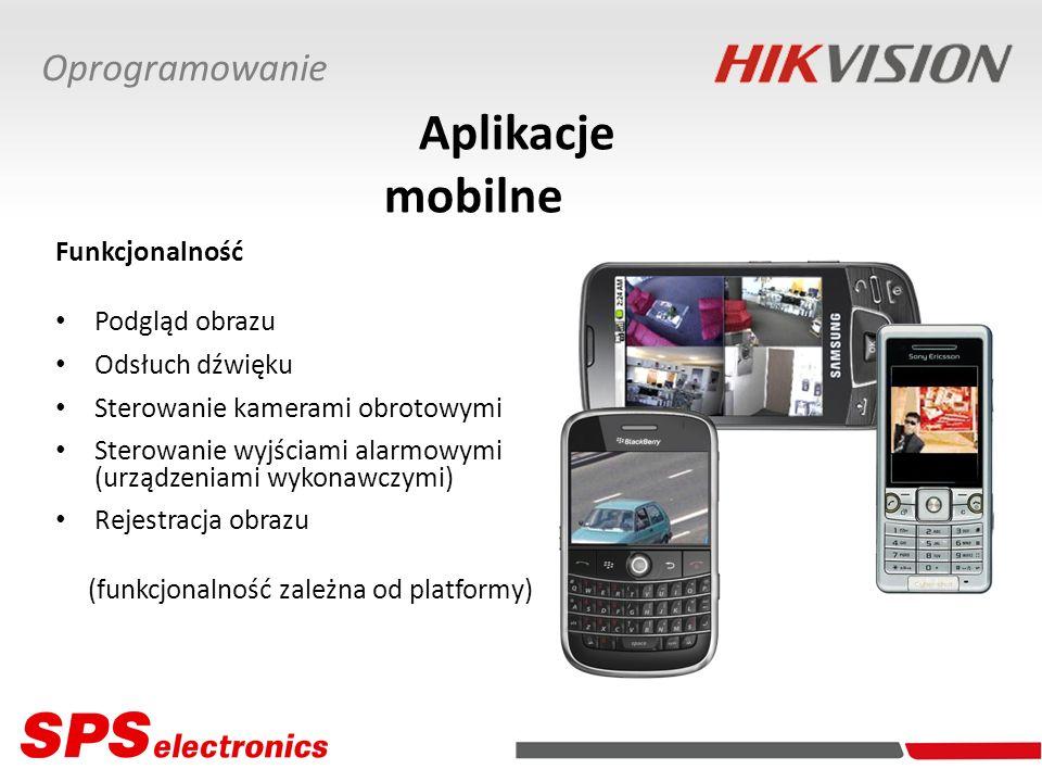 Aplikacje mobilne Oprogramowanie Funkcjonalność Podgląd obrazu