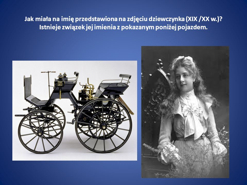 Jak miała na imię przedstawiona na zdjęciu dziewczynka (XIX /XX w. )