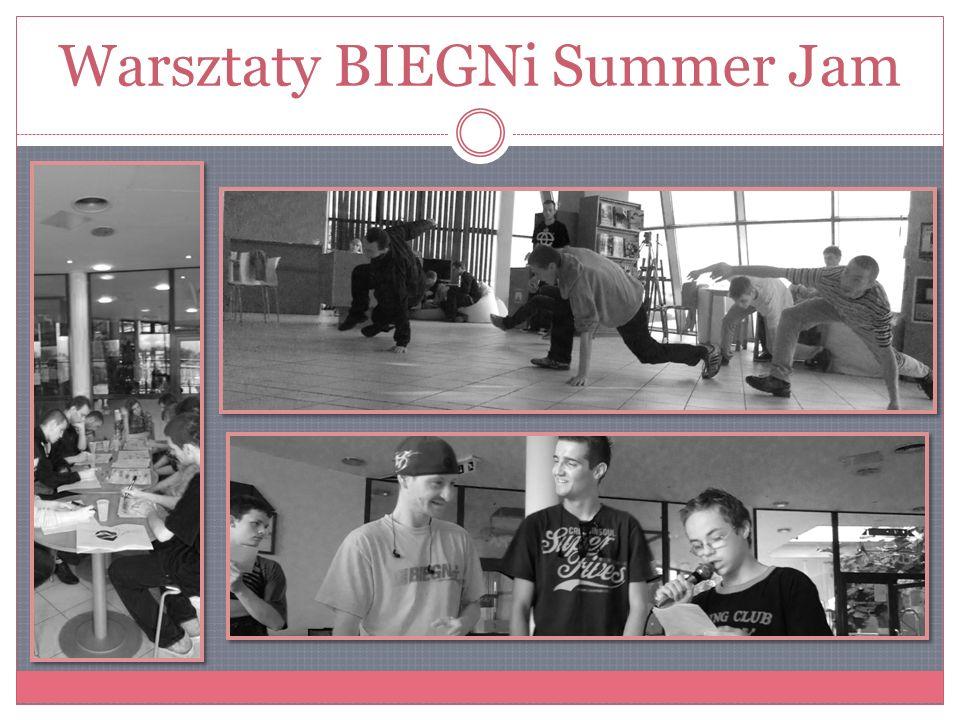 Warsztaty BIEGNi Summer Jam