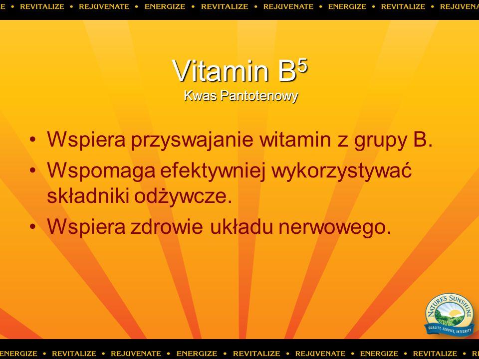 Vitamin B5 Kwas Pantotenowy