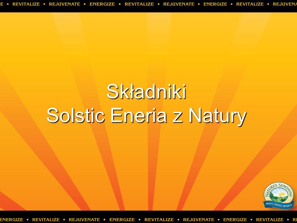 Składniki Solstic Eneria z Natury