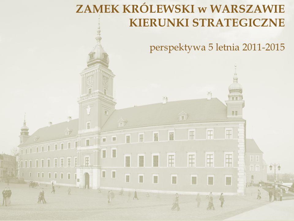 Zamek królewski w Warszawie – DZIŚ