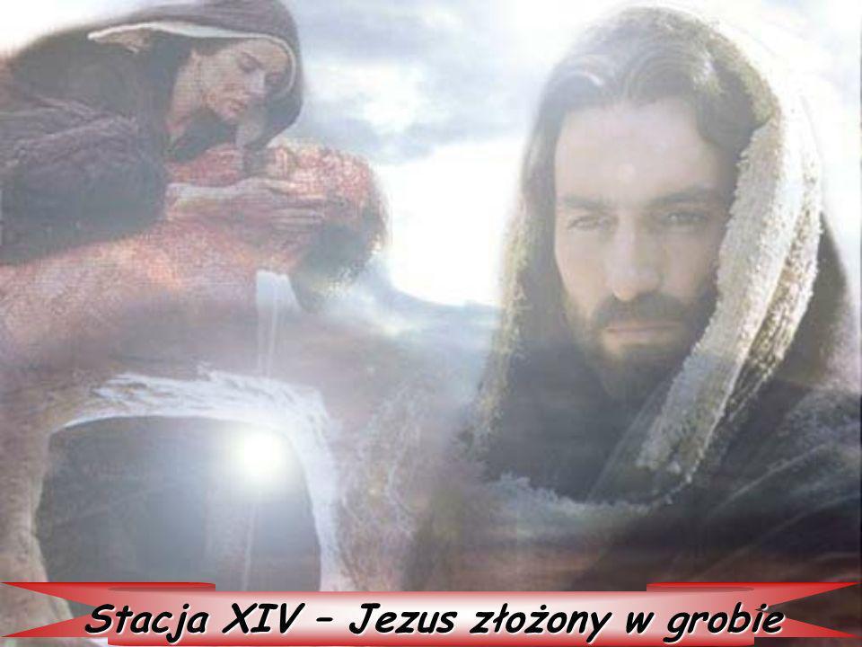Stacja XIV – Jezus złożony w grobie