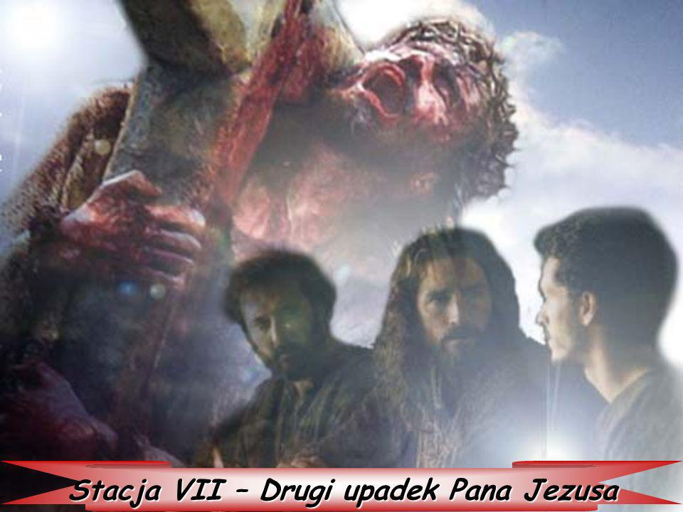Stacja VII – Drugi upadek Pana Jezusa