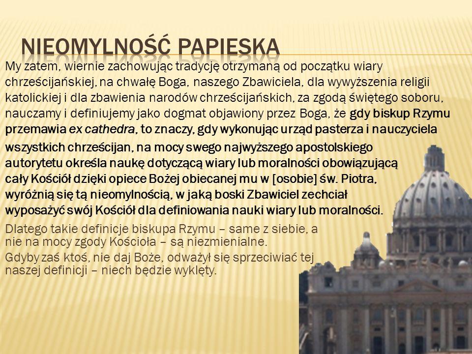 Nieomylność Papieska