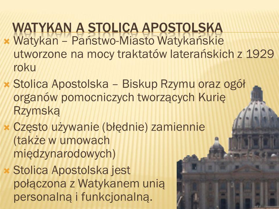 Watykan a stolica Apostolska