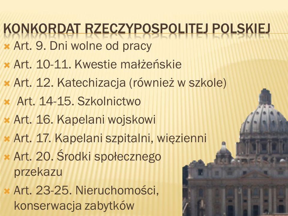 Konkordat Rzeczypospolitej Polskiej