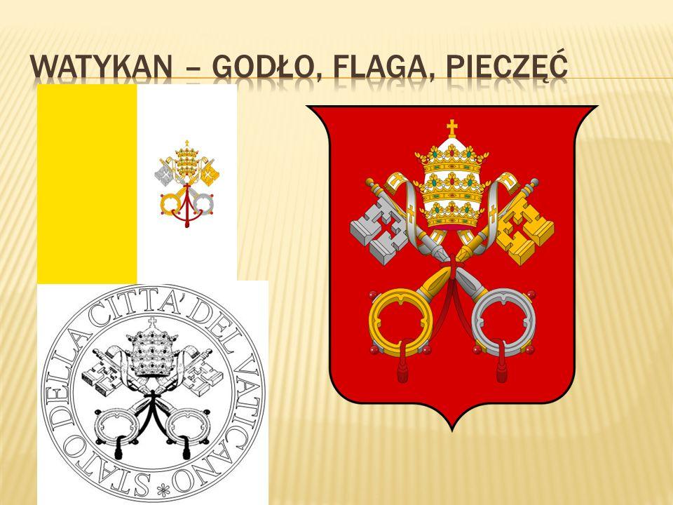 Watykan – Godło, Flaga, Pieczęć
