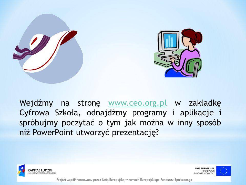 Wejdźmy na stronę www. ceo. org