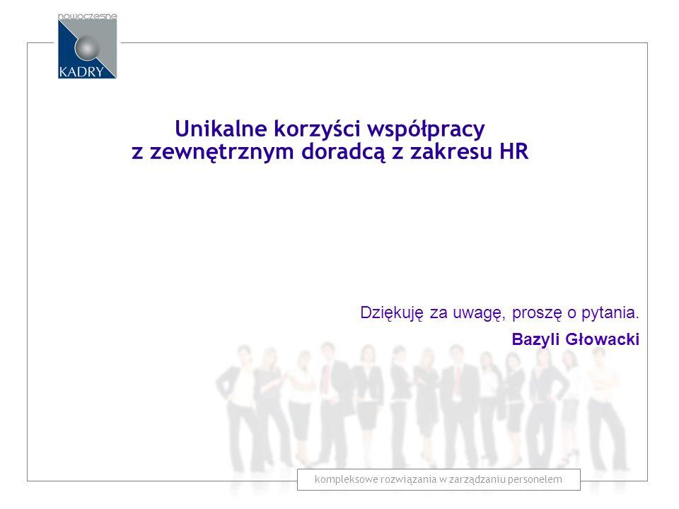 Unikalne korzyści współpracy z zewnętrznym doradcą z zakresu HR