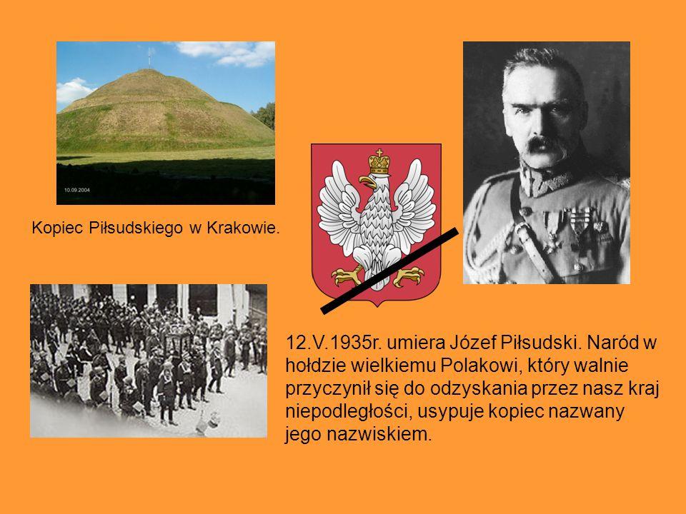 Kopiec Piłsudskiego w Krakowie.
