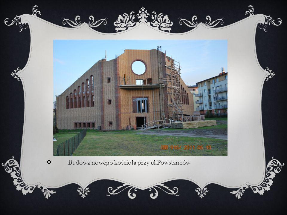 Budowa nowego kościoła przy ul.Powstańców