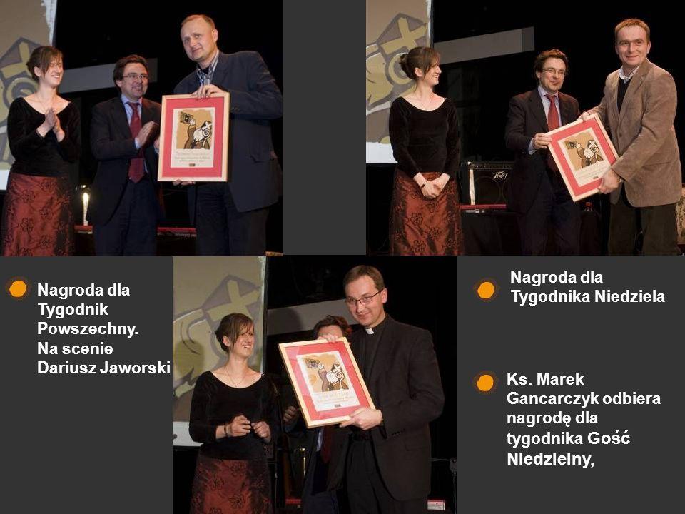 Nagroda dla Tygodnika Niedziela