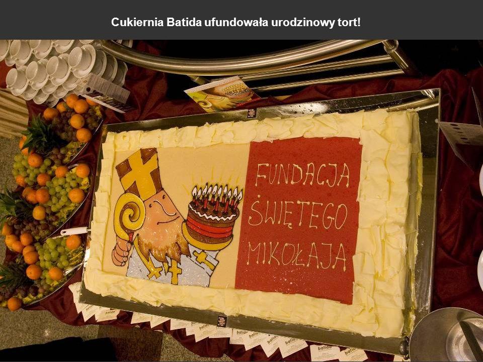 Cukiernia Batida ufundowała urodzinowy tort!