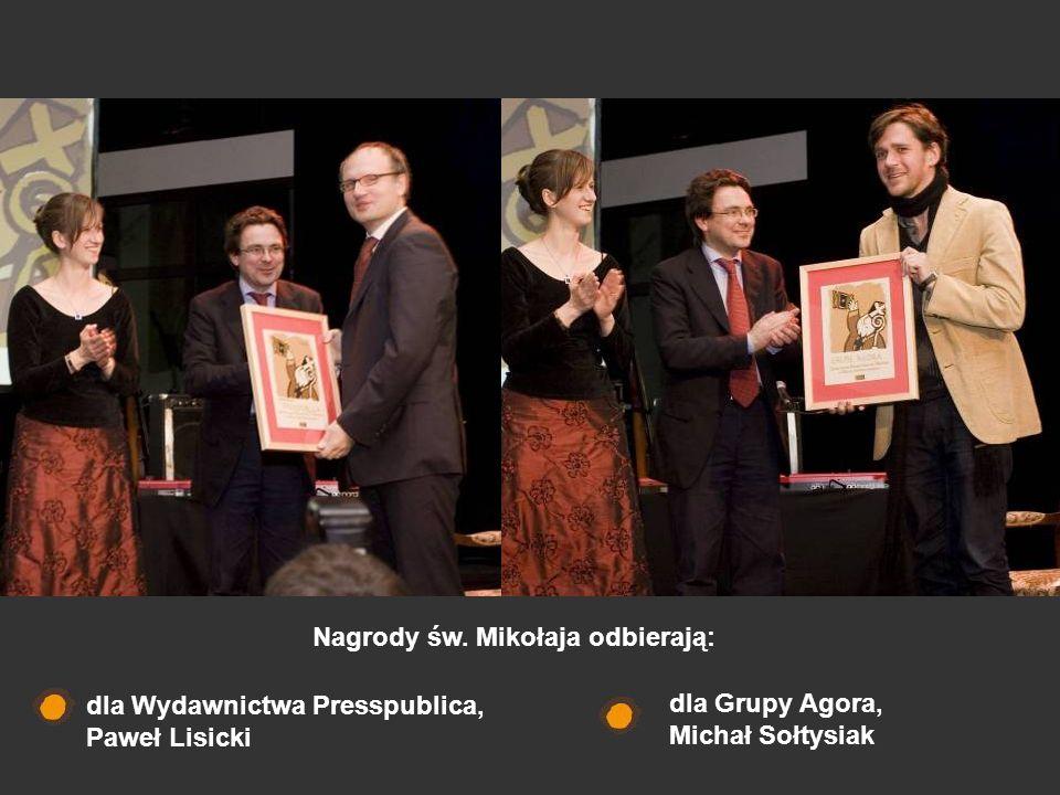 Nagrody św. Mikołaja odbierają: