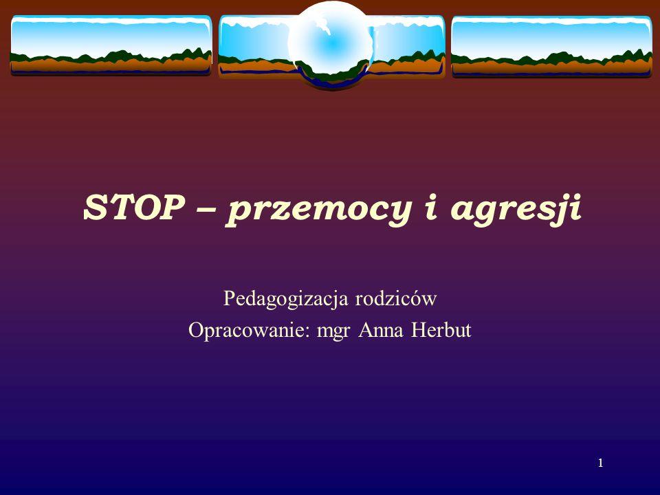 STOP – przemocy i agresji