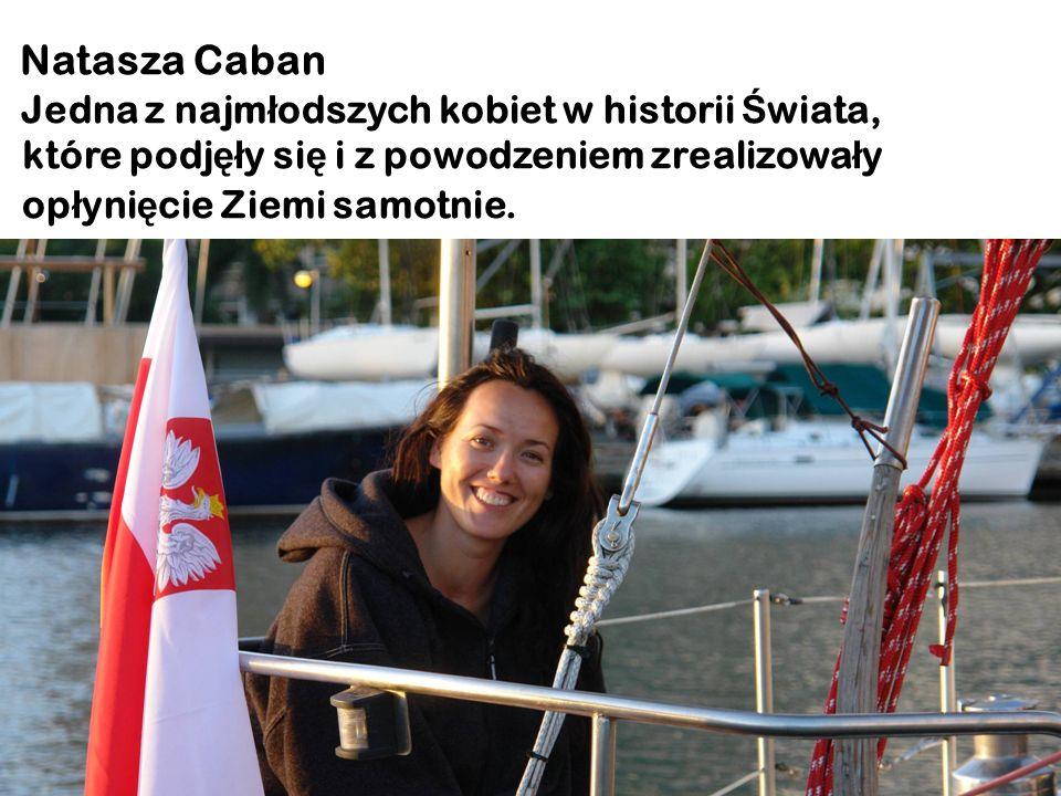 Natasza Caban Jedna z najmłodszych kobiet w historii Świata,
