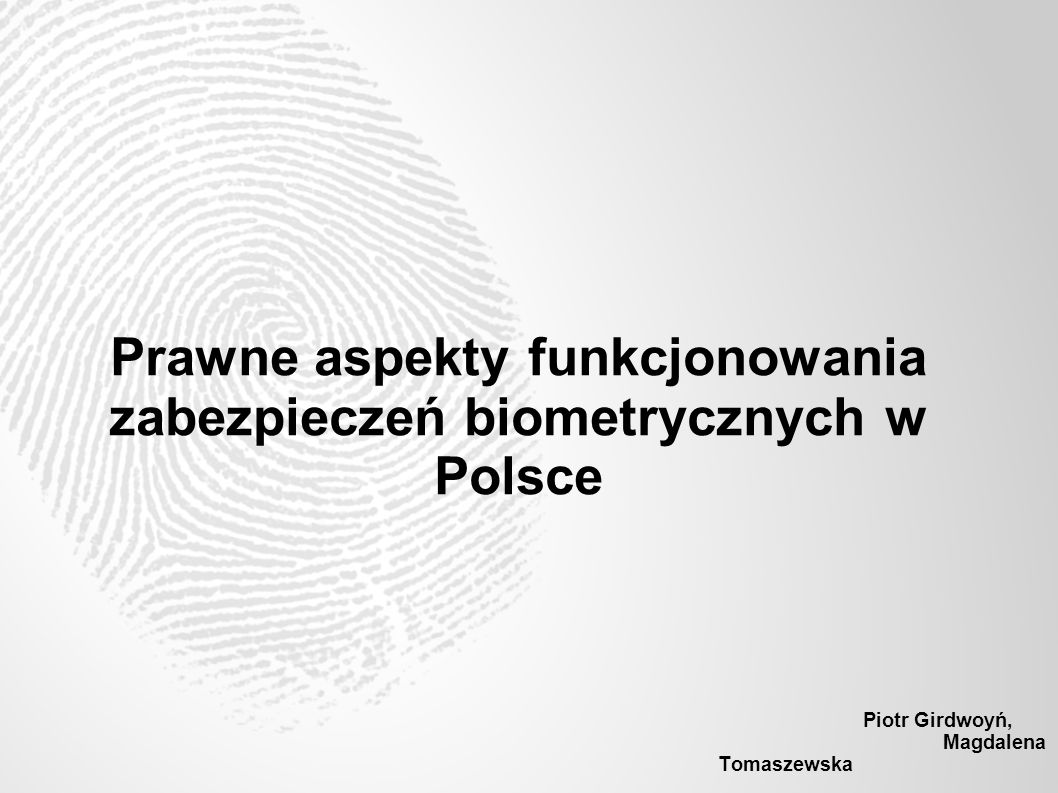 Piotr Girdwoyń, Magdalena Tomaszewska
