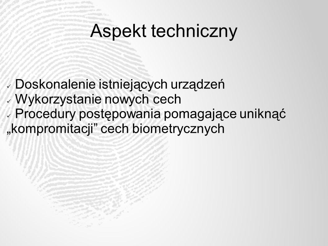 Aspekt techniczny Doskonalenie istniejących urządzeń