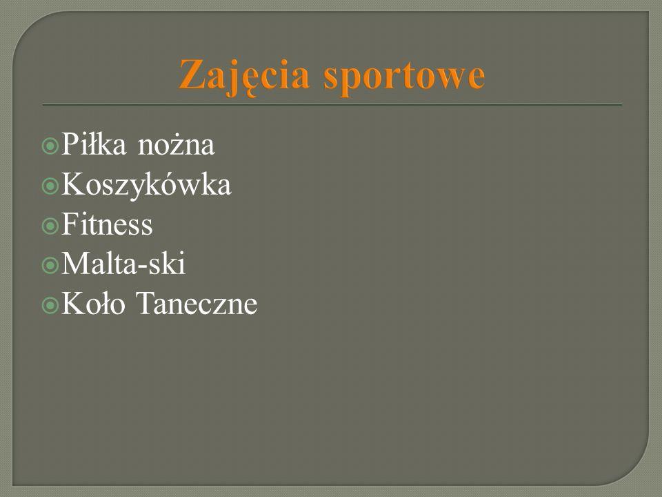 Zajęcia sportowe Piłka nożna Koszykówka Fitness Malta-ski